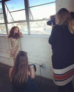 Francesca Capaldi at FD Photo Studio