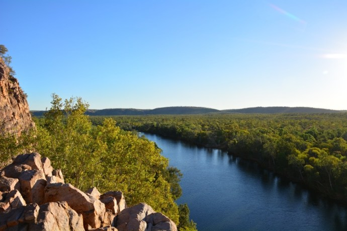View from the lookout - Katherine Gorge