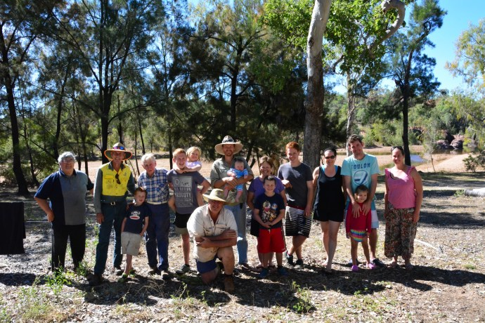 The family shot, O'briens Creek 2014