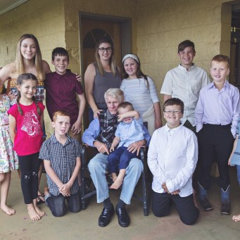 Nearly all of the great grandkids