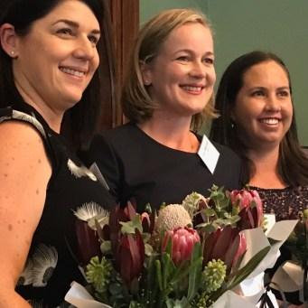 The three QLD Rural Women's Award finalists (two from Mareeba!)