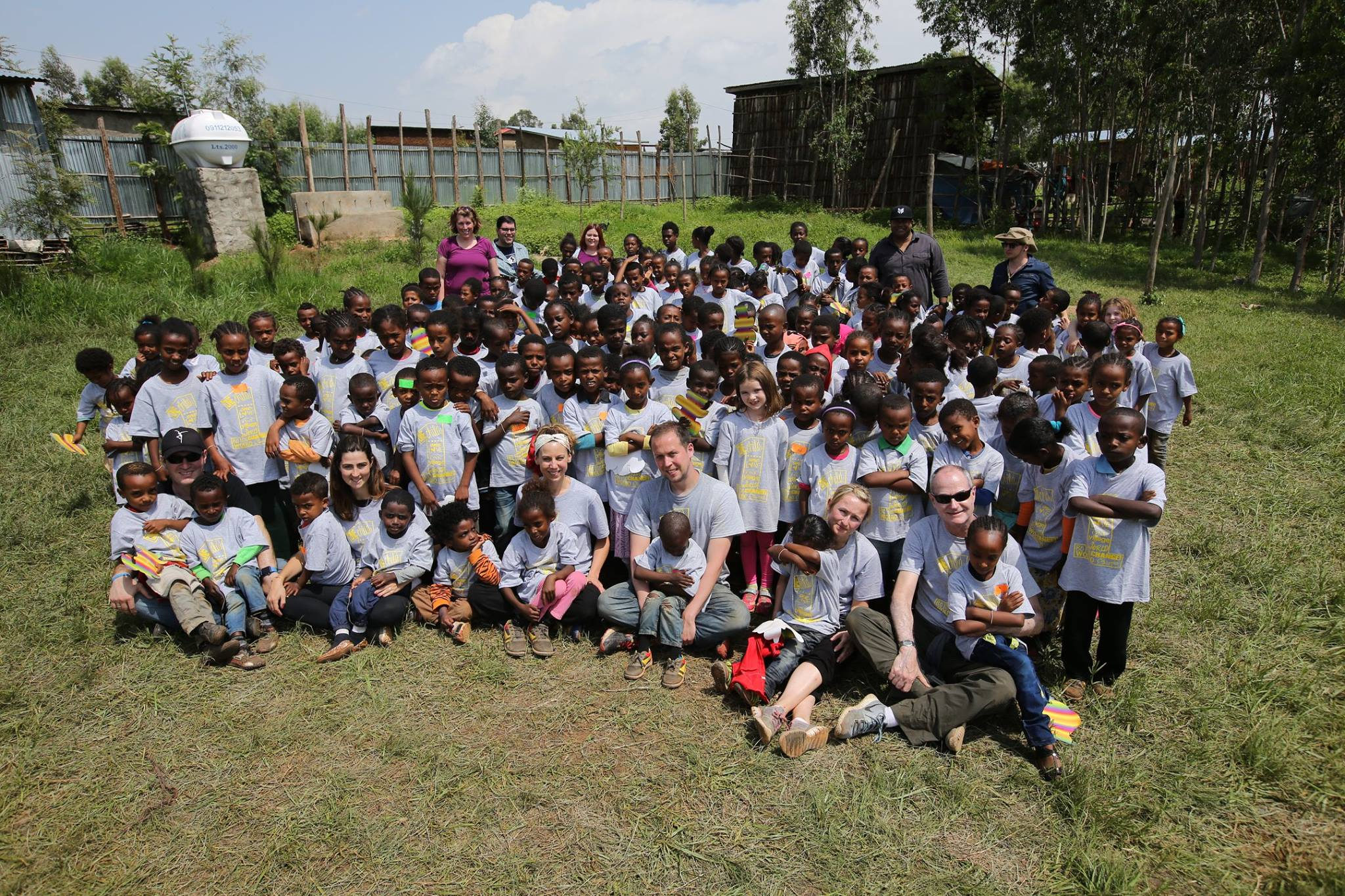The children of the Woliso care point, sponsored by The Fearey Group.