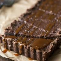 Gluten Free Chocolate Caramel Tart