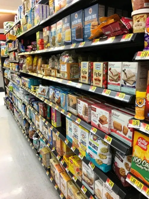 The Ultimate Walmart Gluten Free Shopping Guide - Fearless Dining