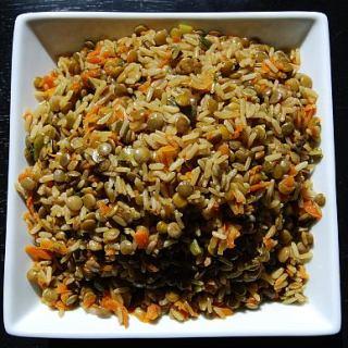 Quick Lentil Rice Dish Recipe - fearlessfoodallergymom.com