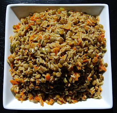Quick Lentil Rice Dish Recipe - Gluten Free, Dairy Free, Soy Free, Nut Free - Fearless Food Allergy Mom