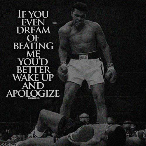 Deep Quotes About Life Wallpaper The Greatest Muhammad Ali Quotes Quotes Of A Champion