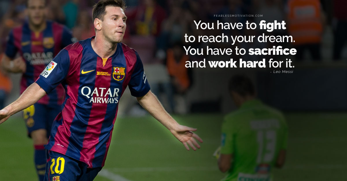Wise Failure Quotes Wallpaper 15 Powerful Lionel Messi Quotes To Help You Achieve Your