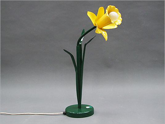 Vintage Lamp Bliss Daffodil Lamp