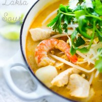 Laksa Soup | A Malaysian Coconut Curry Soup w/ Rice Noodles