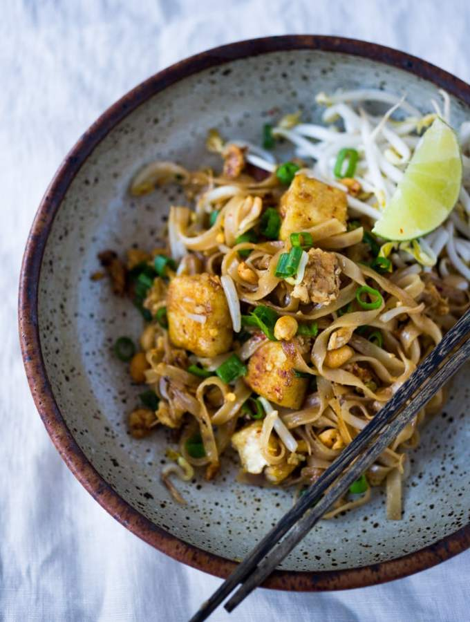 This 15 Minute Pad Thai recipe contains simple accessible ingredients, available at mainstream grocery stores, and really can be made in 15 minutes flat if you work fast.