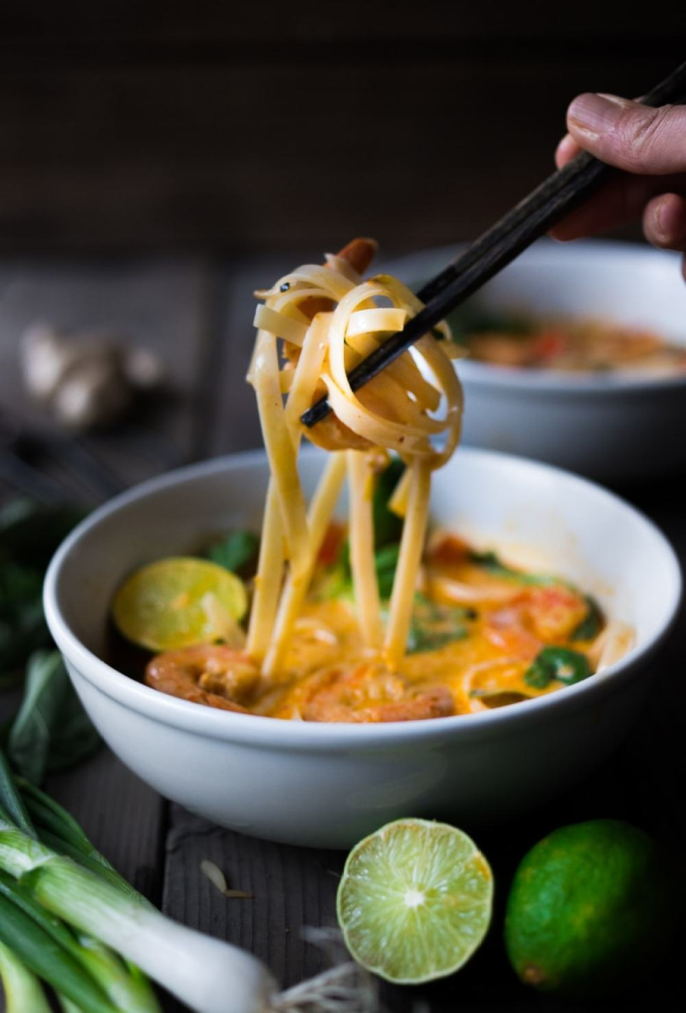 15 minute Coconut Curry Noodles plus 10 other FAST & FRESH Weeknight dinners for Back-to-School nights | www.feastingathome.com