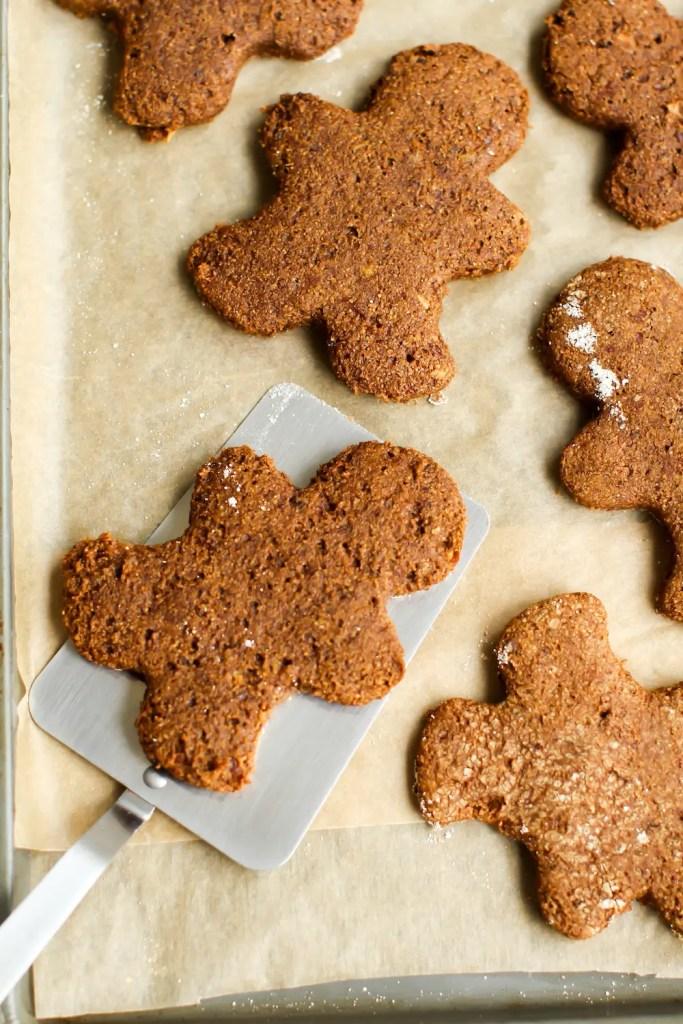 Vegan Gluten-Free Gingerbread Men - Feasting on Fruit
