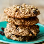 Oil-Free Crispy Oatmeal Raisin Cookies (Vegan + GF)