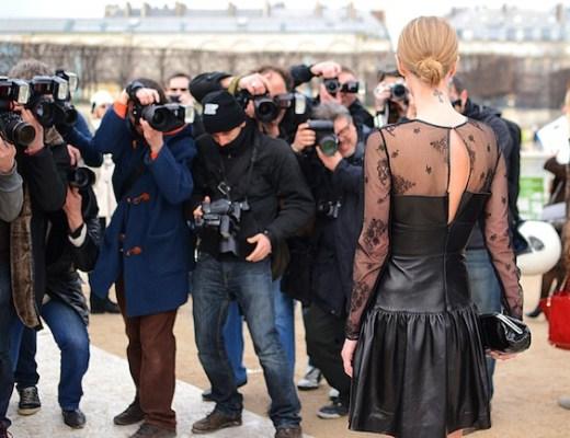 Photographers at Fashion Week