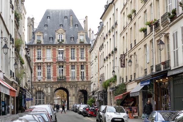Paris - Marais Doorway