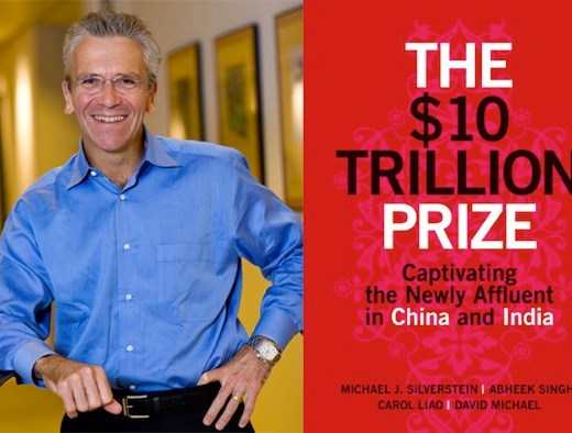 Michael Silverstein and his latest book, The $10 Trillion Prize