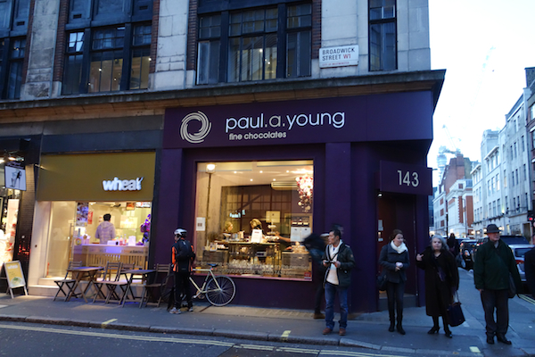 Paul Young Outside