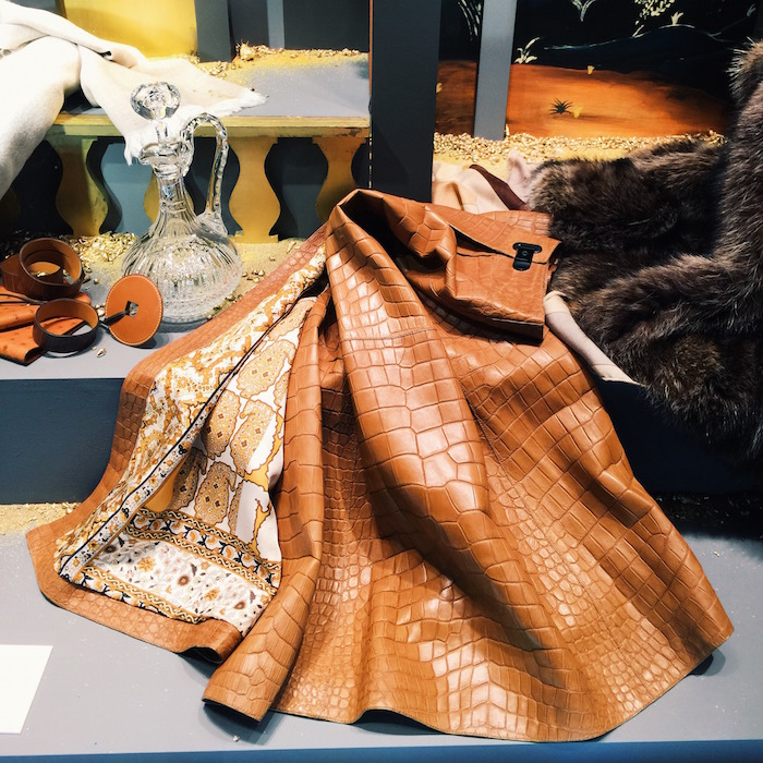 Combining my two favorite interests - travel (in Paris) with shopping (of the window variety, at the Hermes flagship)