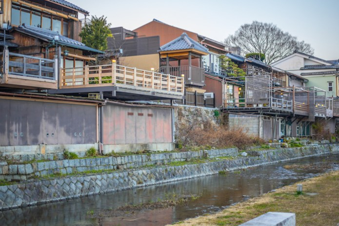 Kyoto River Banks