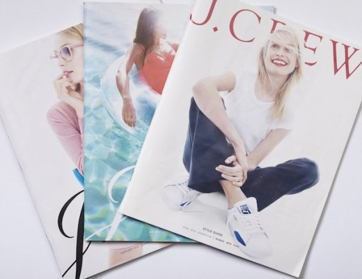 Old J.Crew catalogs from 2010,