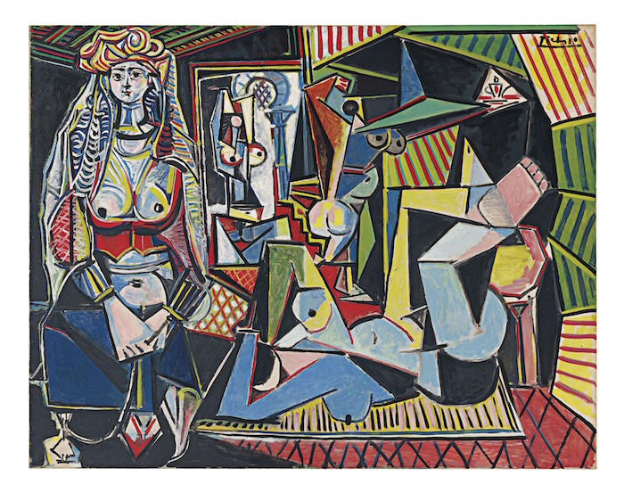 "Price for most expensive work of art sold at auction: US$179,400,000 Pablo Picasso, Les femmes d'Alger (Version ""O""), 1955 © 2016 Estate of Pablo Picasso / Artists Rights Society (ARS), New York"