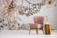Floral wallpaper murals that make a statement | FEATHR