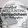 Simplified Accounting Spreadsheets for Photographers