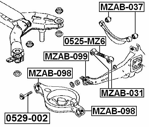 mazda 6 gg 2002
