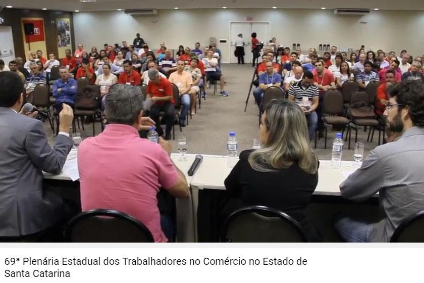 69ª Plenária Estadual dos Trabalhadores no Comércio de Santa Catarina