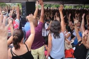 Vitória dos trabalhadores do serviço público de Florianópolis!