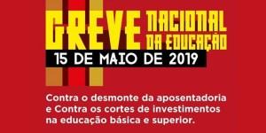 Trabalhadores da Educação vão parar no dia 15 contra reforma e cortes de verbas