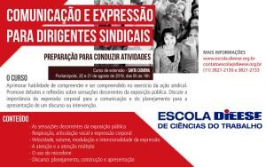 Curso de Comunicação e Expressão para Dirigentes Sindicais