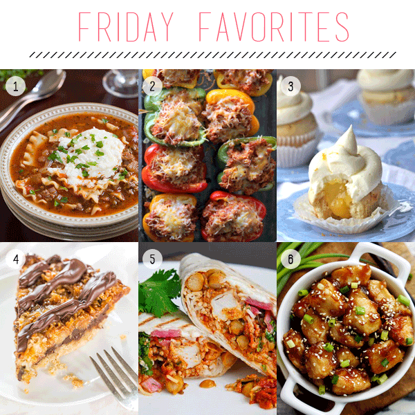 Friday Favorites - The Recipe Edition | Fed & Fab