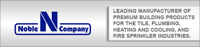 Leading manufacturer of premium building products for the tile, plumbing, heating and cooling, and fire sprinkler industries.