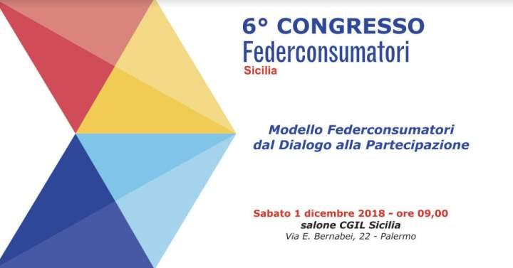 Sesto congresso federconsumatori sicilia