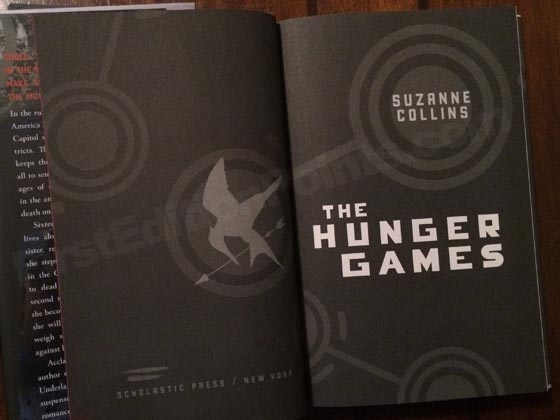 First Edition Criteria and Points to identify The Hunger Games by
