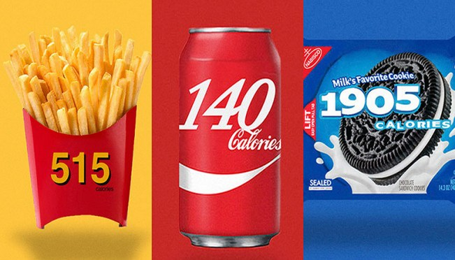 These Famous Foods Redesigned Their Logos To Show Calorie Count, Will Definitely Shock You
