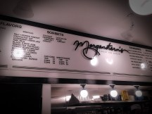 Morgenstern's Ice Cream Menu
