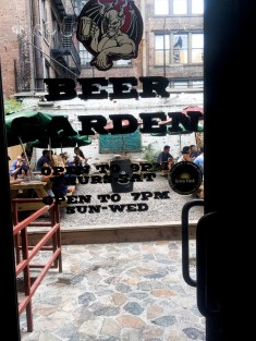Beer Garden Midtown East nyc