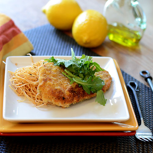 Chicken Milanese - Feed Your Soul Too