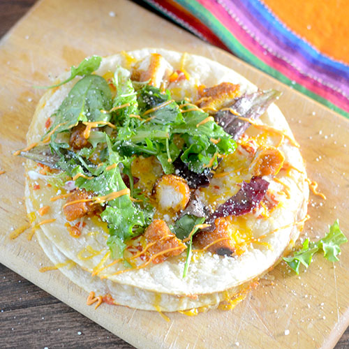 Sweet Chili Chicken Quesadillas - Feed Your Soul Too