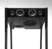 Multi-Purpose Desk Is Part Stereo