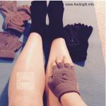 Yoga Socks Help Prevent Slipping on the Mat