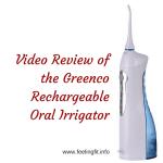 Greenco Professional Rechargeable Oral Irrigator #OralIrrigator