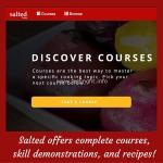 Salted TV Online Cooking School