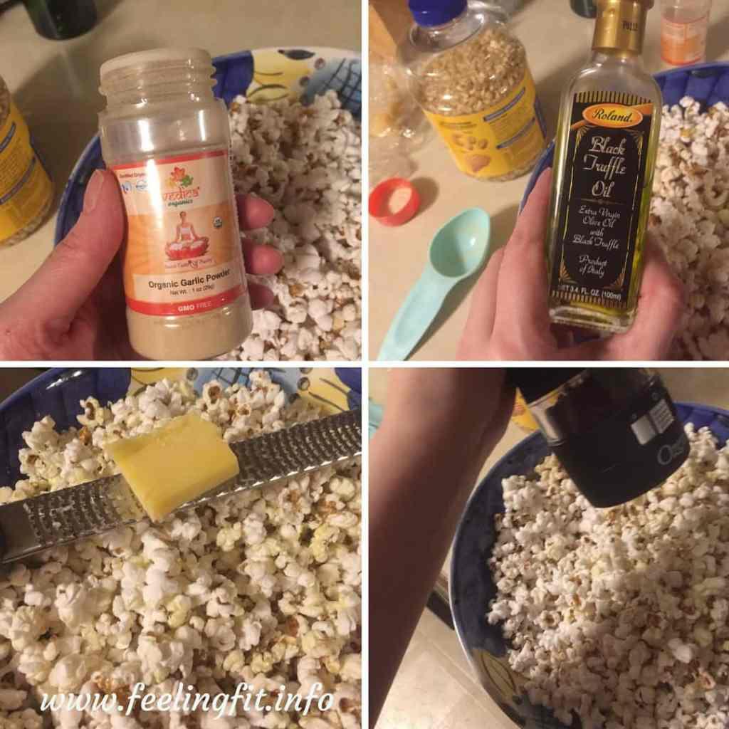 making-truffle-popcorn