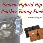 Review Hybrid Hip Leather Hip Pack