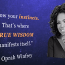 Bill Gates, Richard Branson, Oprah intuition