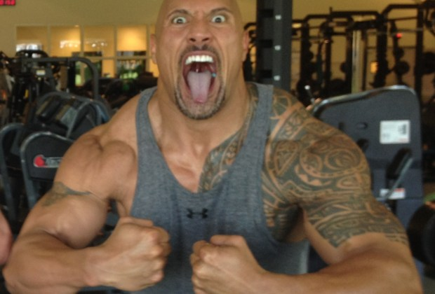 Dwayne Johnson football